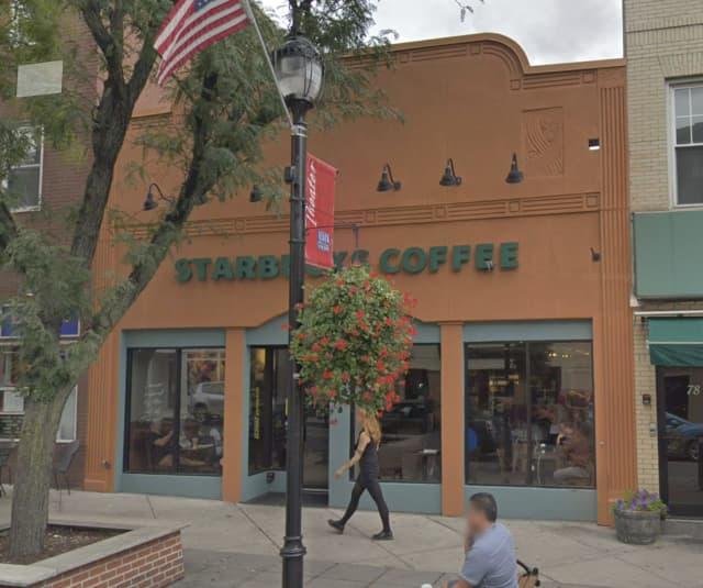 The Starbucks in Nyack