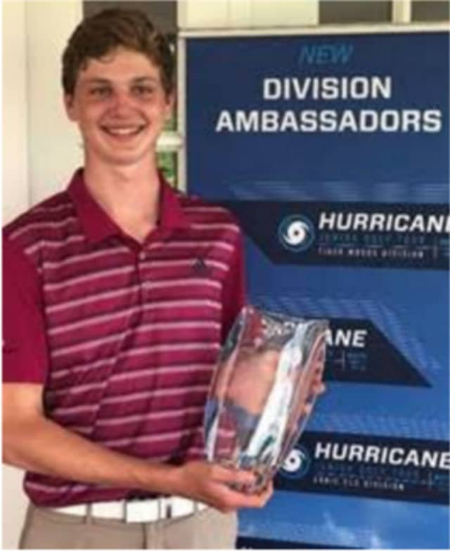 Max Orwicz, a 17-year-old senior at New Canaan High School, has been rewarded with a scholarship to the Golf Performance Center's Junior Academy in Ridgefield after winning the year-long Foster Cup competition,
