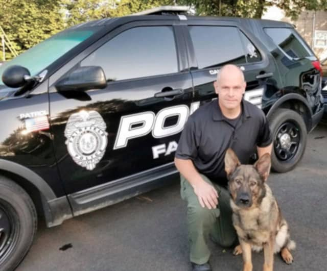 Fairfield Police Department welcomed K9 Sammy to the K9 Unit on Monday, Sept. 16.