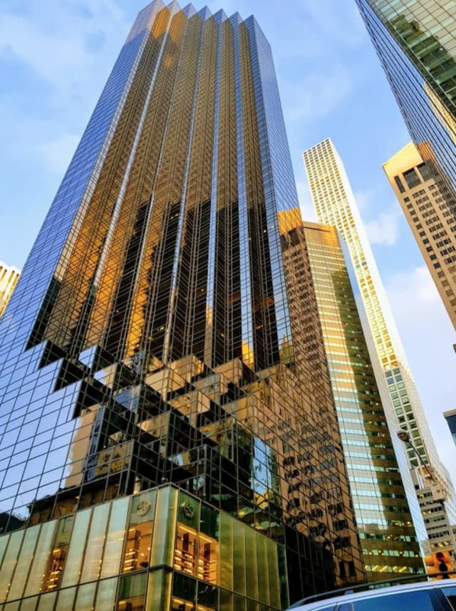 $353,000 in jewelry was reported stolen from Trump Tower on Fifth Avenue in Manhattan