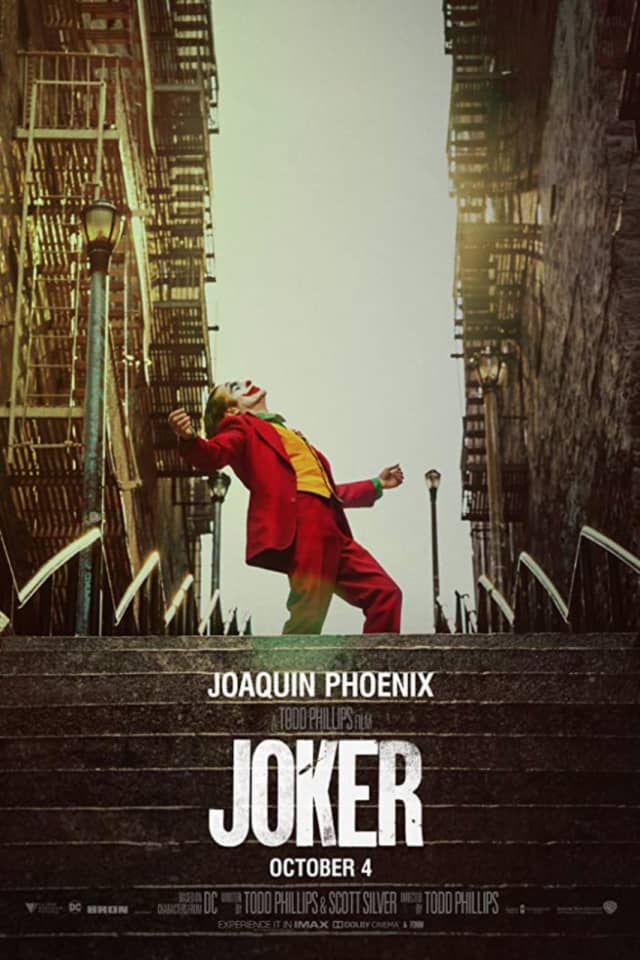 """There will be an increased police presence for some screenings of """"The Joker"""" in Yonkers."""