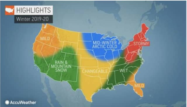 Once the wintry weather gets underway, an active season will be in store, AccuWeather.com says.