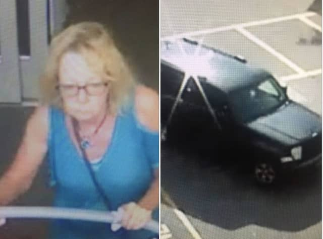 State Police are seeking the public's help in locating a woman allegedly involved in a hit-and-run crash in the area.