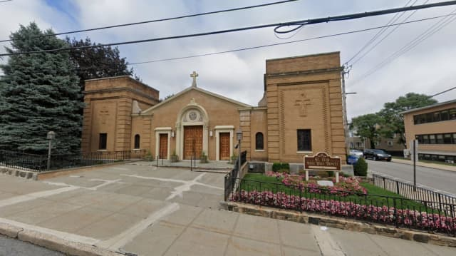 St. Vito-Most Holy Trinity Church in Mamaroneck.