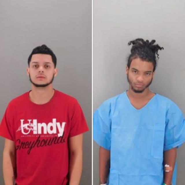 Josue Gonzalez-Vazquez, 19, of New Haven (Left) and Jacob Castro, 19, of Hamden (Right)