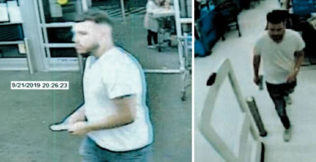 Police are on the lookout for a man who they say purchased two MoneyGram money orders in the amount of $1,000.87 at the Walmart in Danbury (67 Newtown Road)  and used the victim's stolen Chase debit card to complete the purchase.