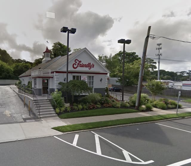 The Friendly's in West Ronkonkoma was robbed at gunpoint.