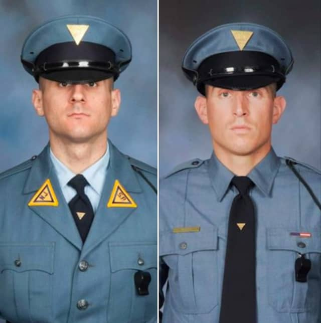 Trooper Sean Sullivan and Trooper Russell Cahn