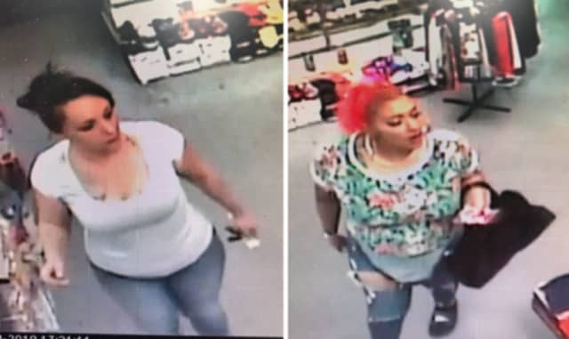 Police are on the lookout for two women suspected of stealing a series of beauty products from Ebony Beauty Supply in Freeport (171 W. Merrick Road) on Sunday, Oct. 13 around 3:15 p.m.