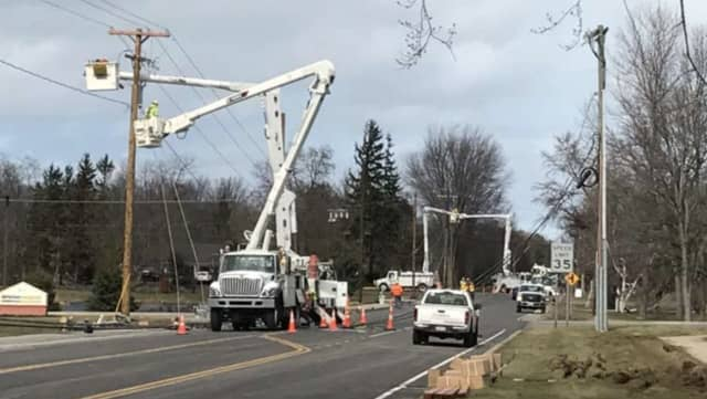 Thousands of Westchester residents are without power after a Nor'easter tore through the region, bringing whipping winds and rain to the area.