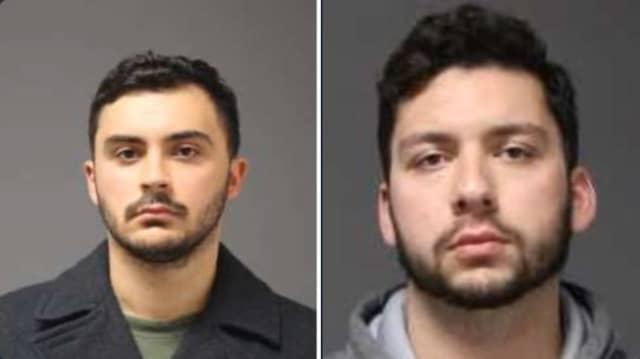 Jarred Mitchell Karal, of Plainville, and Ryan Gilman Mucaj, of Granby, both 21
