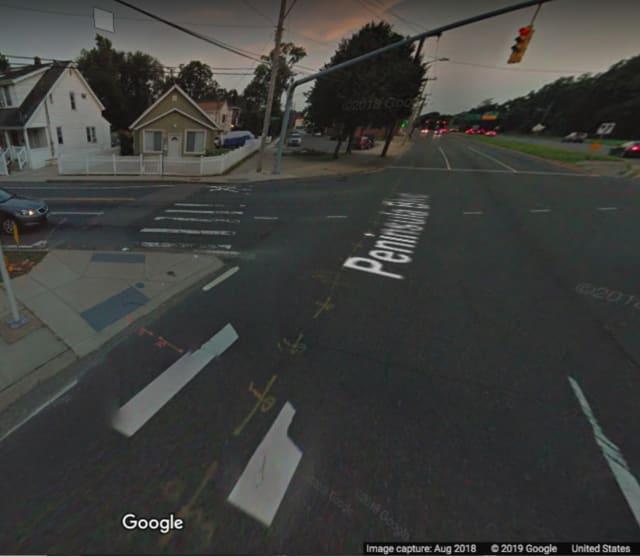 The area of Peninsula Boulevard near West Graham Avenue in Hempstead.