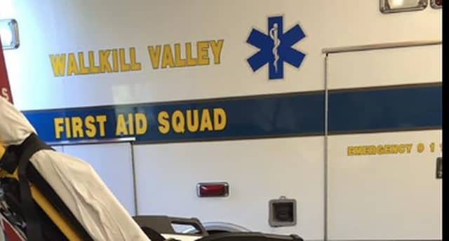 The Wallkill Valley First Aid Squad responded