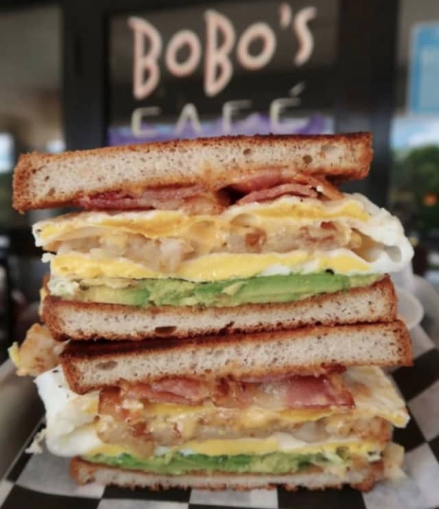 Bobo's Cafe, newly opened at 1 Station Plaza in Chappaqua, serves simple breakfast and lunch sandwiches and other classics.