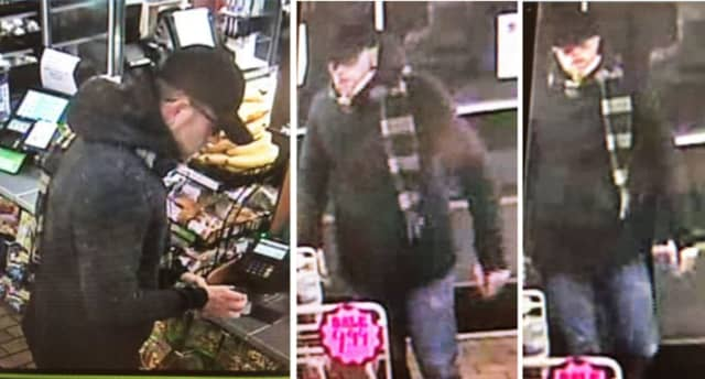 A man attempted to use stolen credit cards at 7-Eleven in Patchogue (286 W. Roe Boulevard) on Wednesday, Oct. 16, around 3:30 a.m., according to police.