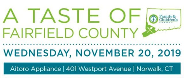 A Taste of Fairfield County, an annual food and sampling event hosted by the Family & Children's Agency, will be held Wednesday, Nov. 20.