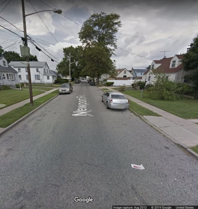 Newport Road in Uniondale.