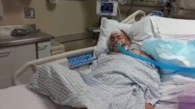 """Bagel Boss Guy"" Chris Morgan was hospitalized after suffering a stroke."