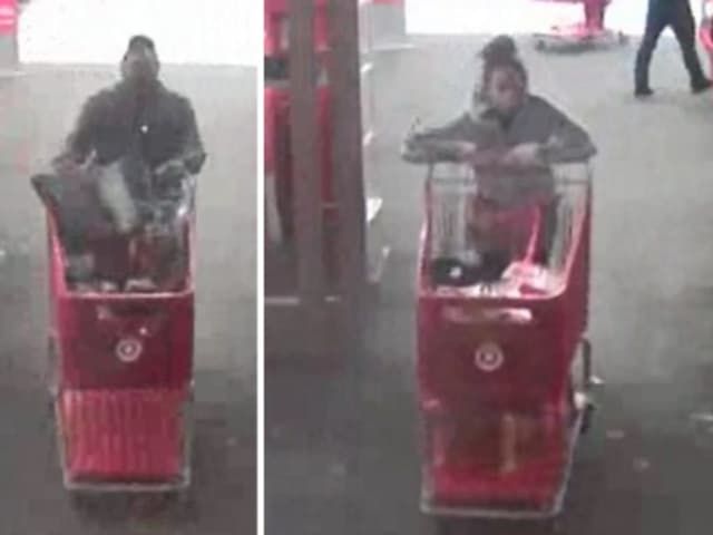 Police are on the lookout for two women suspected of stealing clothing worth $740 from Target in Huntington Station (124 E. Jericho Turnpike) on Friday, Nov. 1 around 6:45 p.m.