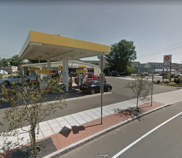 Two men robbed the Shell Gas Station in Stamford at gunpoint.