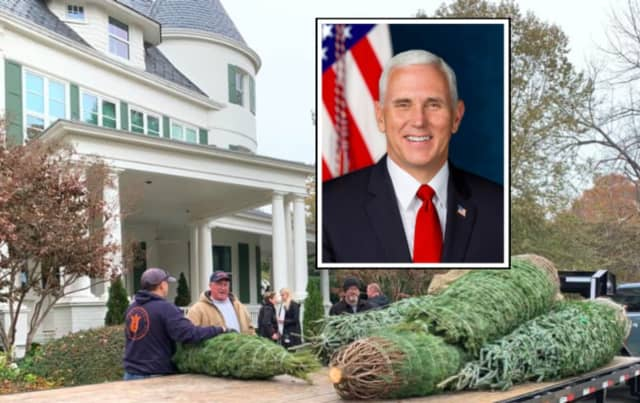 U.S. Vice President Mike Pence will have a little piece of Warren County in his home this Christmas.