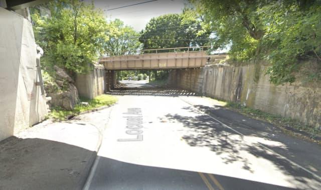 A truck hit a railroad bridge in Rye, causing a short road closure.