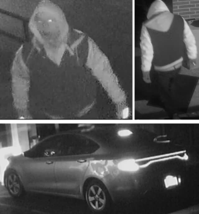 Police are on the lookout for a man suspected of breaking into Temple Beth El in Huntington (660 Park Avenue) through a window on Thursday, Nov. 28, at approximately 11:40 p.m.
