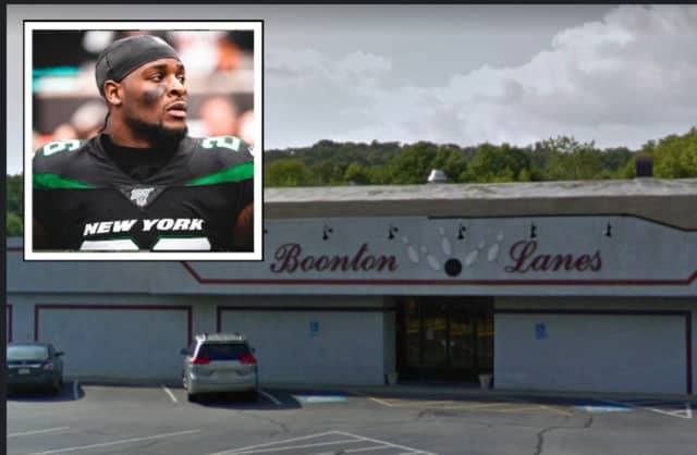 Le'Veon Bell went bowling in Boonton after being ruled out of Sunday's game with the flu.
