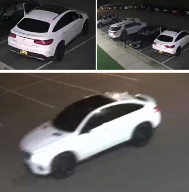 Police are on the lookout for the person accused of breaking the windows on three cars in the parking lot of Planet Fitness in Melville (25 Ruland Road) on Friday, Nov. 1 between 5:40 p.m. and 7:50 p.m.