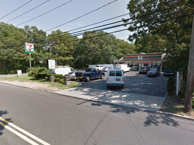 A woman robbed 7-Eleven on Peconic Street in Ronkonkoma at knifepoint, police said.