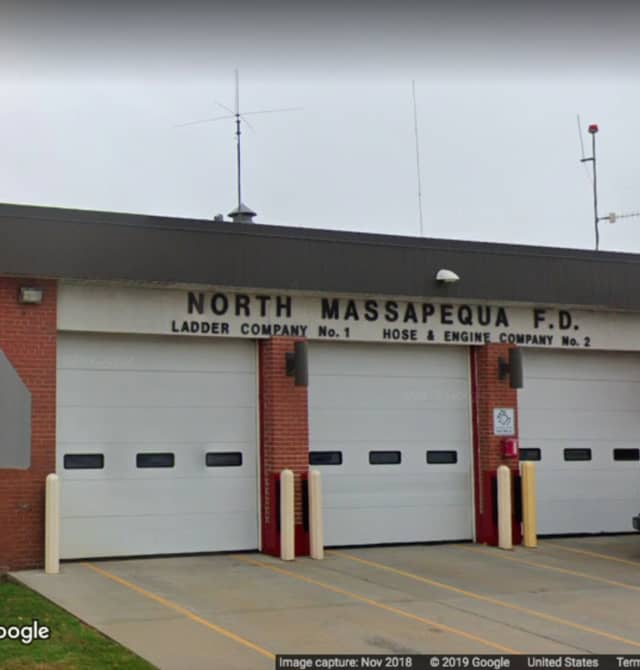 The North Massapequa fire headquarters on North Broadway.