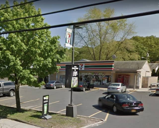 A Long Island 7-Eleven store was reportedly robbed at knifepoint.