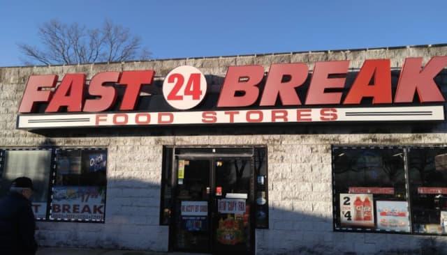 Fast Break Food Mart located at 1066 Merrick Ave. in North Merrick
