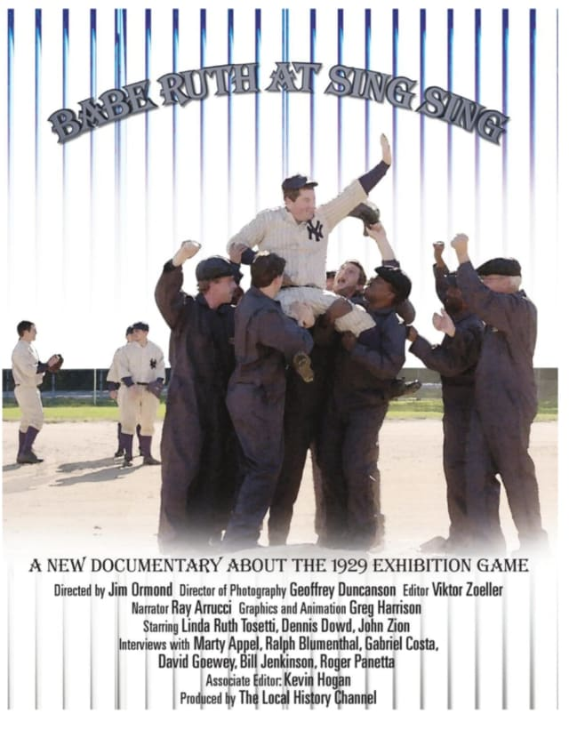 "Local filmmaker Jim Ormond will be showing his documentary ""Babe Ruth At Sing Sing"" at 10 a.m. on Saturday, Jan. 11 at the Mount Kisco Historical Society."