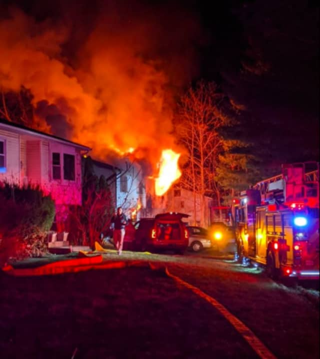 The blaze broke out just after 5:30 a.m. on Saturday, Jan. 11 on Rockland Lane in Hillcrest.