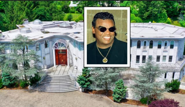 Ronald Isely and the Allison Road home that recently sold for $3 million after a decade on the market.