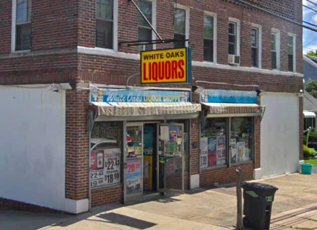 White Oaks Liquor Store in Belleville.