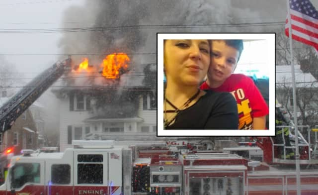 Amanda Russo and her son Danny were killed in a Nutley house fire Saturday.