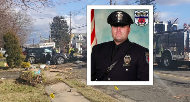 Roselle Park Police Officer Edward Nortrup was off-duty when he shot and killed himself after crashing his SUV in Matawan, authorities said.
