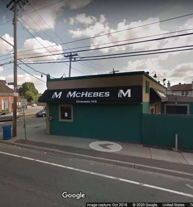 McHebes Pub/Bar on Fulton Street in Hempstead.