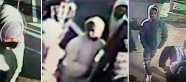 The men pictured above approached two juveniles walking in the vicinity of Bergen Street and 15th Avenue on Friday, Jan. 17 around 3:30 p.m.