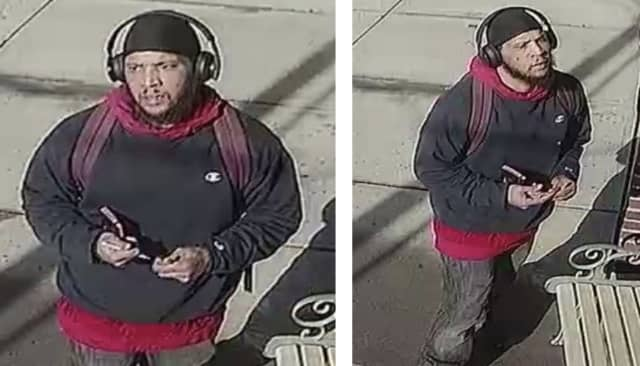 Know him? Police are asking for help identifying a man wanted for allegedly threatening police.