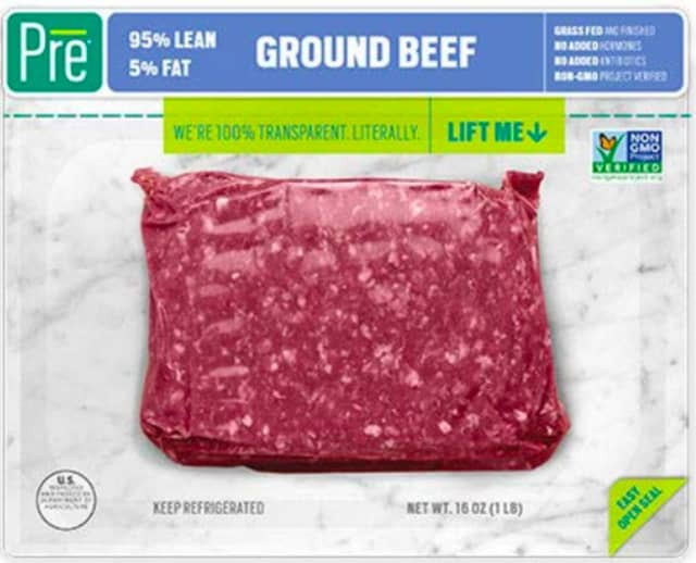 A look at the recalled ground beef product.