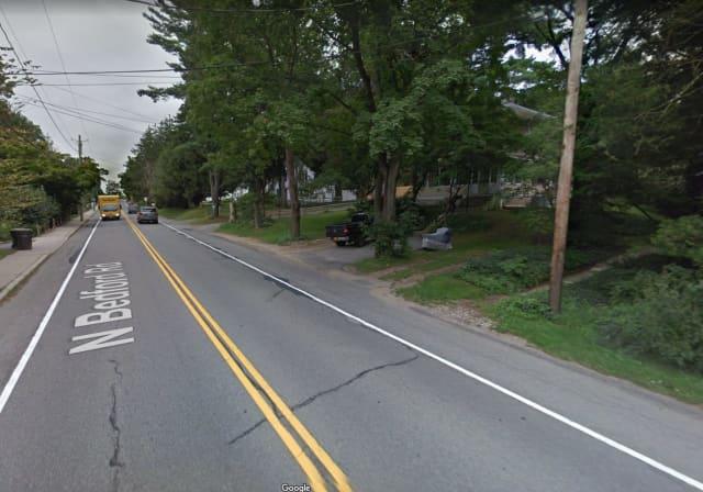 Police in Bedford arrested a man at 414 Bedford Road in Bedford Hills.
