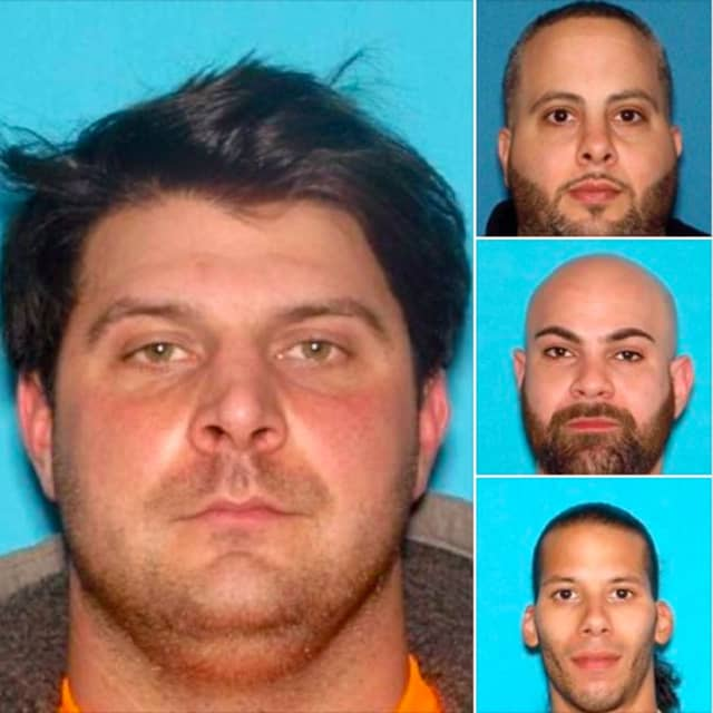 Michael Emma (left) of Fairfield, Paul Sayegh of Clifton (top right), Edward Qarabashi of Newark (middle right) and Juan Trinidad Jr. of Paterson (bottom right).