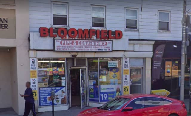 One of two winning lottery tickets was sold at Bloomfield Pipe Shop in Bloomfield.