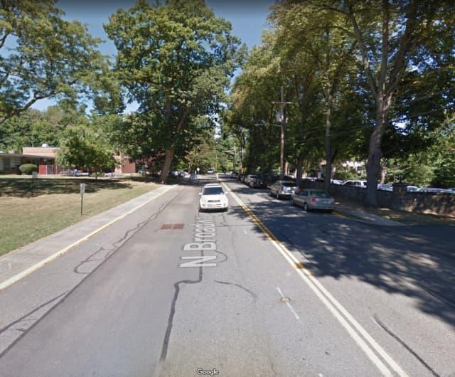 North Broadway in Nyack