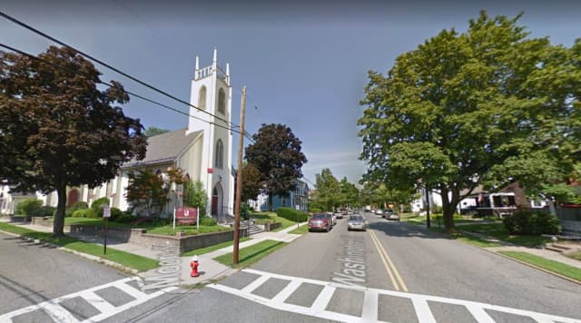 The incident occurred near this intersection in Hackettstown.
