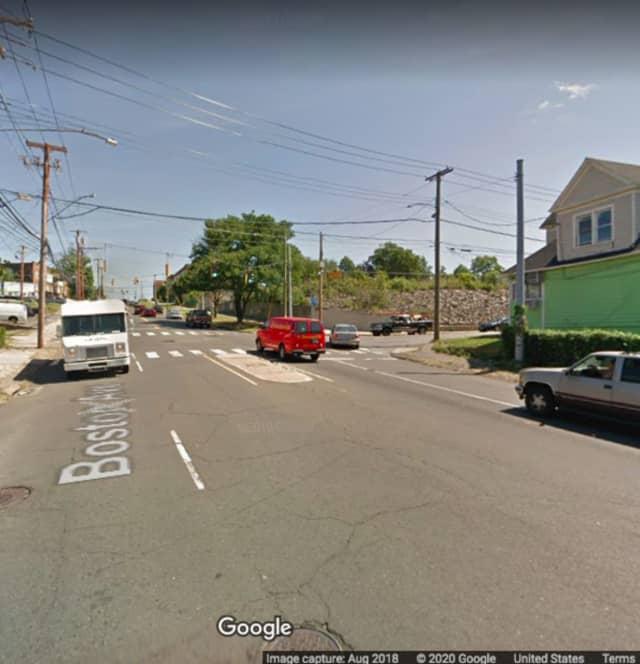 Boston Avenue and Remington Street in Bridgeport.