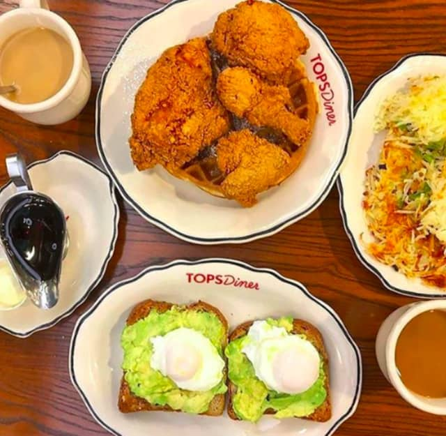 Tops Diner in East Newark was named the best diner in New Jersey.